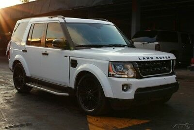 2016 Land Rover LR4 HSE AWD 4dr SUV 2016 Land Rover salvage, repairable, rebuildable , damage, fix, wreck,  cars,fix