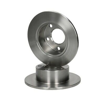 Set 2 pezzi disco freno posteriore Ø245mm per Audi A6 100 Skoda Superb VW Passat