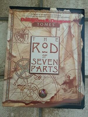 Advanced Dungeons & Dragons - TOMES - The Rod of the Seven Parts