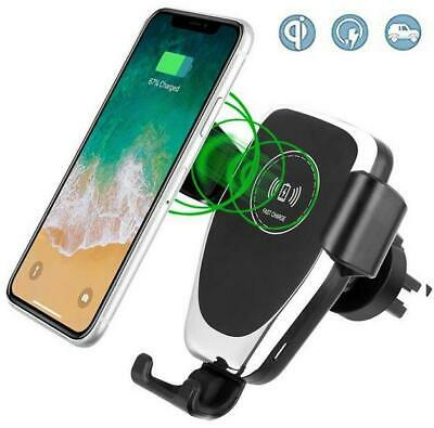 Genuine Samsung Fast Car Charger Bundle With Gravity Wireless Stand For S8 S9