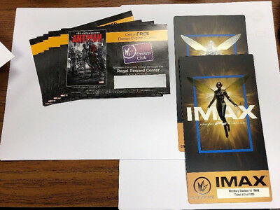 Marvel ANT-MAN AND THE WASP Regal Posters & Digital Comics to Redeem UNUSED NEW!
