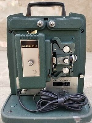 Vintage Keystone Model K-950 8mm Motion Picture Projector - Tested and working