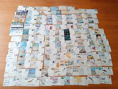 Job Lot Of Flight Covers And Some First Day Covers Stamps Red Arrows Sally B etc