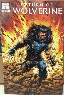 Return of Wolverine #1 Age of Apocalypse Costume