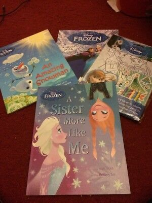 Disney Frozen Books And Activity Collection As New
