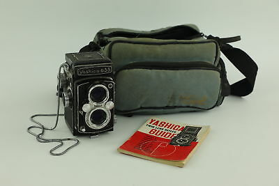 Vintage YASHICA 635 Twin Lens Film Camera Spares & Repairs