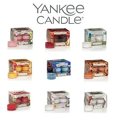 Yankee Candle Scented Tea Lights Tealights - Assorted Fragrances - FREE POSTAGE