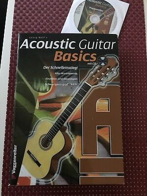 Georg Wolf's Acoustic Guitar Basics Mit CD