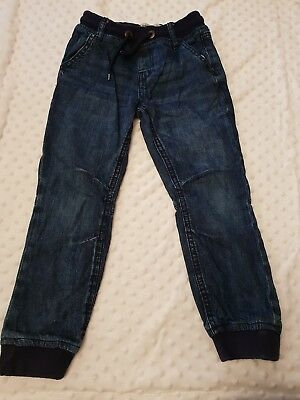 Boys Jeans Age 6-7 Years Cuffed leg