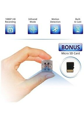 Wireless Mini Camera HD 1080P DVR Spy Cam  Video Record  Pics SD Card included!!