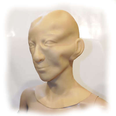 Latex Human Mask Men 1,6 mmSize one size (2742)