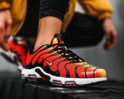 NIKE AIR MAX Plus TN Ultra 'Tiger' 898015 004 Black Yellow