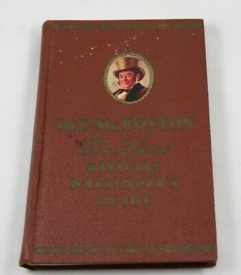 Old Mr. Boston De Luxe Official Bartender's Guide Vintage 1957 Drink Recipes