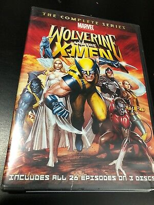 Wolverine and the X-Men: The Complete Series Brand New DVD Animated