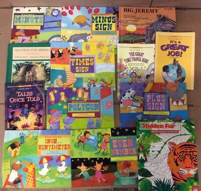 Lot of 20 K-5 Scholastic Learn to Read Picture Mix Set Kid Children Book #F52 NR