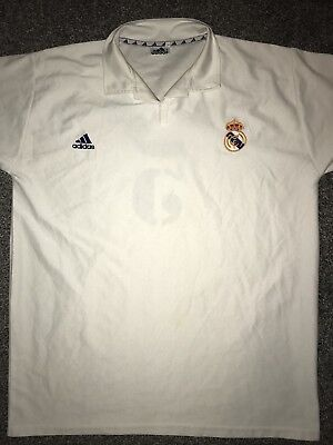 233a8eac2 Real Madrid Centenary Home Shirt 2001 02 Zidane 5 X-Large Rare And Vintage