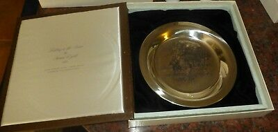 """Brandywine Battlefield"" Sterling Silver Collectable Plate by James Wyeth"