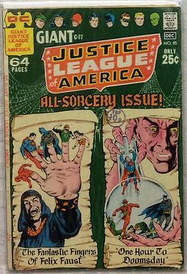 Justice League of America #85 Giant (1970 DC) Bronze Age GD/VG condition