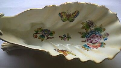 Collectable Hand Painted Herend Hungary Dragon Bowl / Dish - 7760-0-00