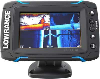 New Lowrance Elite-5 Ti CHIRP Touchscreen Marine GPS Fishfinder w/ Transducer