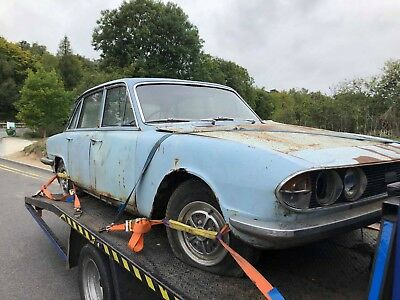 Triumph 2500 Pi ,very Rusty ,stock Car ,banger Racing  Or Parts Donor ,