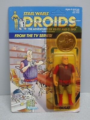 Star Wars Droids Jord Dusat card unpunched