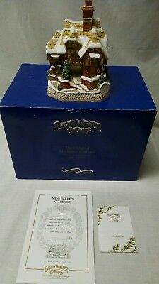 David Winter Cottages - Miss Belle's Cottage - Original Box- COA