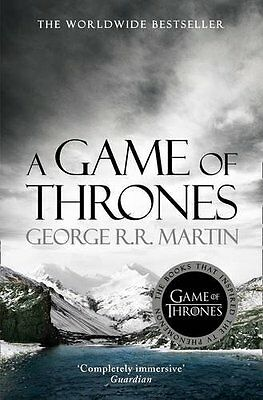 A Game Of Thrones Song Of Ice & Fire Book 1 by George R. R. Martin New Paperback