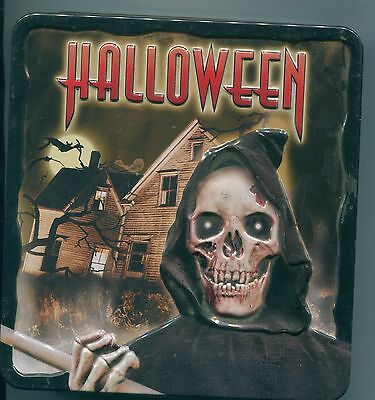 """Collector's Edition """"Halloween"""" / HORROR / ZOMBIES 2 CD's, 1 DVD / 3D METAL BOX"""