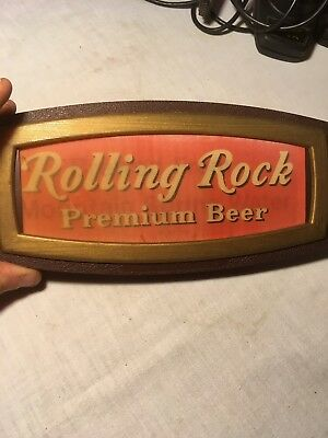 1972 Rolling Rock Optigraphic Beer Sign Latrobe Brewery Latrobe, PA