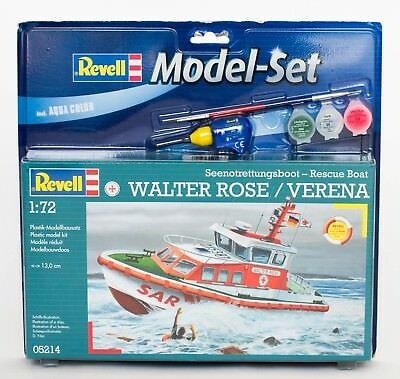 Revell 05214 Model-Set 65214 Walter Rose / Verena Seenotrettungsboot-Rescue Boat