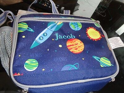 d0b066c1ca Pottery Barn Kids Mackenzie Cold Pack solar system Lunch Bag mono Jacob New