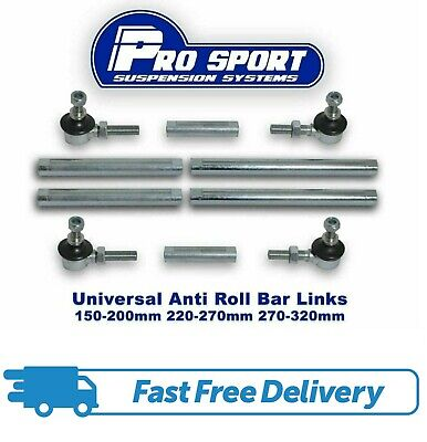 PROSPORT ADJUSTABLE FRONT ANTI ROLL BAR DROP LINKS - Skoda Fabia 6Y Mk1 - 130008