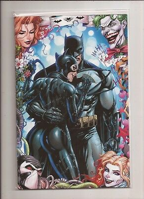 Batman #50 Tyler Kirkham Exclusive Virgin Variant Nm Wedding Catwoman Rare Joker