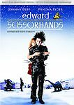 Edward Scissorhands (DVD, 2005, Bilingual, Full screen anniversary edition)