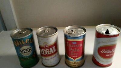 Beer Can Lot. Zip And Early Tabs