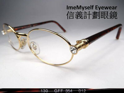 [ ImeMyself Eyewear ] GIANFRANCO FERRE GFF 354 Rare! Vintage Frame Prescription