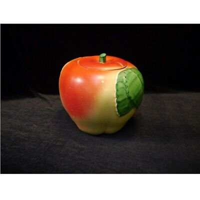 Vintage 1940's Hull Apple Shaped Cookie Jar