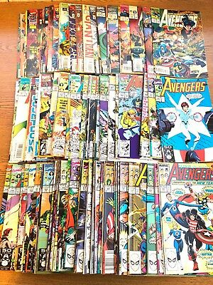 The Avengers Huge Comic Lot #300-402 Complete Run!! Marvel With 346