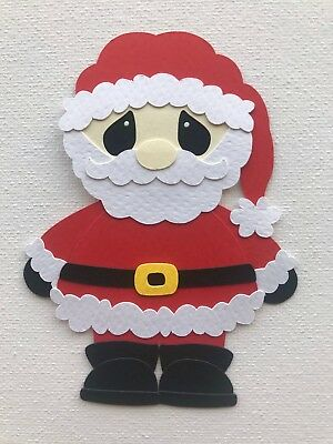 SANTA fully assembled paper piecing / die cut