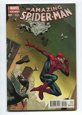 2014 Marvel The Amazing Spider-Man #1 Opena 1:75 Variant Nm 9.4 D3