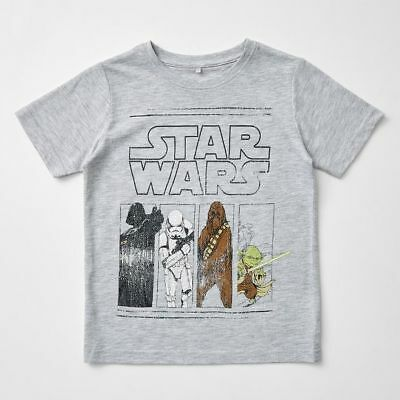 NEW Star Wars Short Sleeve T-Shirt Kids