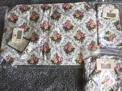 Longaberger Mother's Day Material  set of Placemats, Napkins, Bread Liner- NEW
