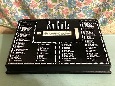Vintage Glenn Shaw Bar Guide 80 Drink Recipes Cocktails 1950s 1960s Party