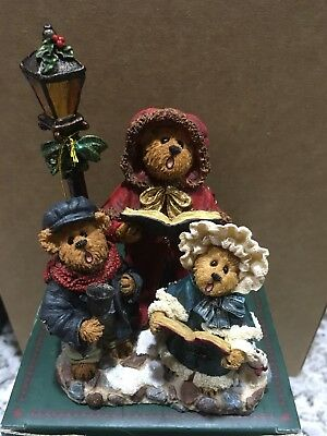 """Boyds Bears """"VICTORIA ANNE WITH STUART & ABIGAIL""""LIGHTS UP"""""""
