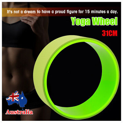 Yoga Wheel Muscle Relaxing & Fitness-Extra Strength Balance Training Health Gym