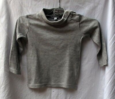 Sous pull gris in extenso 12 mois
