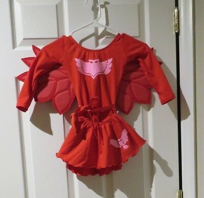 owlette costume toddler size 3 to 4 years old