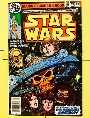 Vintage 1979 Marvel Comics Star Wars #19