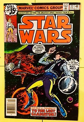 Vintage 1979 Marvel Comics Star Wars #22